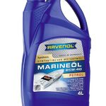 фото Моторное масло RAVENOL MARINEOIL PETROL SAE 25W-40 SYNTHETIC (4л)